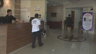 Rede hoteleira tem queda no movimento em Porto Velho - Sobram acomodações e faltam turistas nos hotéis recém-construídos na cidade.