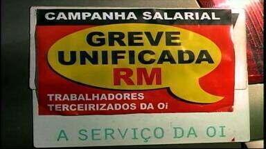 Greve deixa moradores sem serviços de internet e telefonia em Rio Grande, RS - Telefônicos estão em campanha salarial no município.