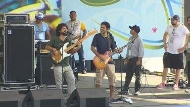 Acompanhe o 4º dia de Fifa Fan Fest em Manaus - Evento acontece na Praia da Ponta Negra, Zona Oeste de Manaus.Festa exibe os jogos da Copa do Mundo em um telão.