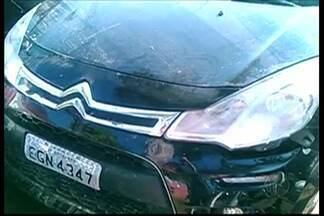 Carro de PM de Mogi das Cruzes desaparecido é encontrado em corrégo de Suzano - O soldado da PM Rodrigo de Lucca está desaparecido desde sexta-feira (20). O Corpo de Bombeiros encontrou o veículo dentro do córrego no Parque Maria Helena, em Suzano