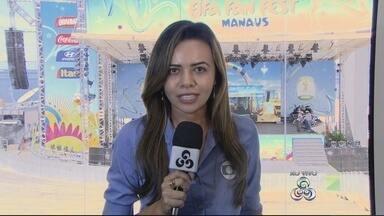 Fifa Fan Fest promete animação em dobro em Manaus - Além do jogo do Brasil contra Camarões, evento conta com atração a nacional Pixote.