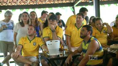 Torcedores maranhenses estão otimistas com o jogo da Seleção hoje - Seleção do Brasil jogam contra a Seleção de Camarões.