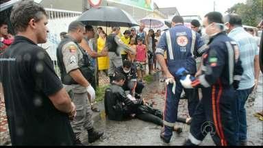 JPB2JP: Mulher morre esfaqueada perto do Mercado Central de João Pessoa - Acusado foi ferido.