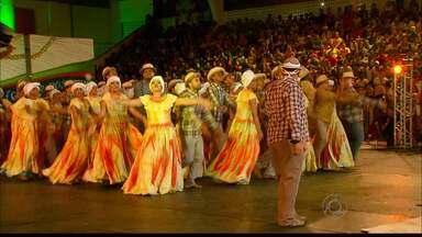 JPB2JP: Quadrilha da Paraíba fica em terceiro lugar no Festival Regional da Globo NE - Concurso disputado em Pernambuco.