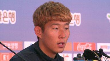 Seleção coreana se prepara para enfrentar a Bélgica na quinta-fefira - Os jogadores ainda tenta digerir a derrota contra a Argélia.