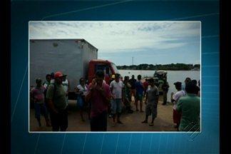 Protesto interdita porto Camará na ilha do Marajó - Manifestação começou após aumento na tarifa da balsa que a viagem entre o porto e Belém.