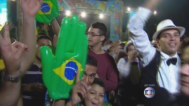 Festa de São João em Caruaru comemora vitória da Seleção Brasileira - Pátio do Forró recebe maratona de shows.