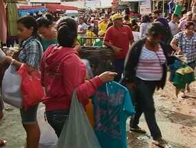 Feira da Sulanca de Caruaru movimentou cerca de R$ 30 milhões - Véspera do Dia de São João (23) foi considerada fraca por alguns feirantes.