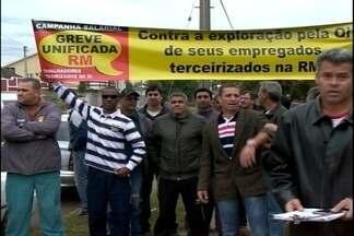 Quatro mil pedidos de clientes de operadora de telefonia estão pendentes em Pelotas - Funcionários estão em greve