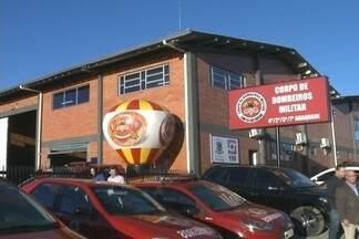 Unidade dos Bombeiros Militares é instalada em Araquari - Cidade contava apenas com voluntários.