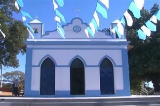 Católicos comemoram o dia do Senhor dos Aflitos no interior do estado - Fiéis do povoado de Cantinho fazem caminhada de 20 km em homenagem ao santo.