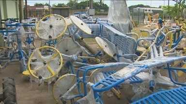 Instalação de equipamentos da academia do Parque da Cidade ainda não foi feita, em RO - No final de maio, a Secretaria de Esporte e Lazer havia dado um prazo de 12 dias para a instalação dos equipamentos.