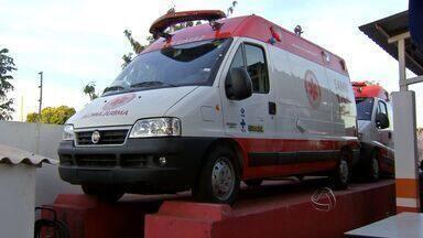 Novas ambulâncias não podem ser usadas por falta de placa - Segundo a coordenadoria do Samu, as ambulâncias devem começar a circular até o final da semana que vem