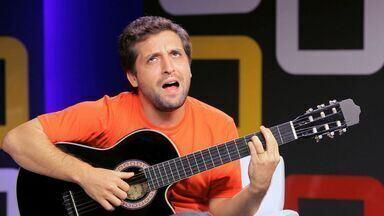 Gregório Duvivier, o músico