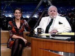 Atriz Fernanda Machado fala de sua carreira - Ela fez sucesso com o filme 'Tropa de Elite' e a novela 'Paraíso Tropical' quase simultaneamente.