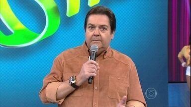 Faustão elogio povo brasileiro na Copa e é aplaudido - 'A Copa teve dois campeões: a Alemanha e o povo brasileiro'