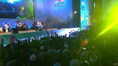 Milhares acompanham final no Fifa Fan Fest, em Belo Horizonte - Os shows e a emocionante vitória da Alemanha animaram o público.