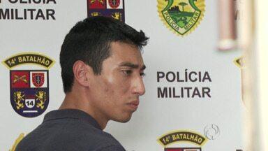 Jovem acusado de homicídio é reconhecido e preso na Vila Portes - O rapaz foi preso enquanto fazia compras em uma loja de peças.