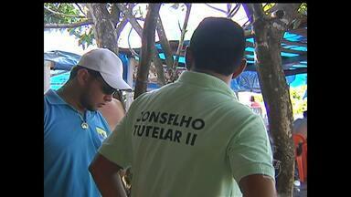 Conselho Tutelar de Santarém intensifica fiscalização em locais públicos nas férias - Praias e balneários da cidade são os pontos que mais preocupam os conselheiros.