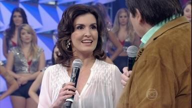 Fátima Bernardes participa do 'Eu acho' e encara opinião do público - Apresentadora ouve o que o povo pensa sobre ela