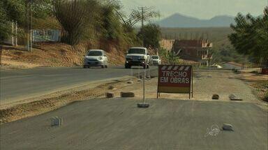 Obras na BR-222 exigem mais atenção dos motoristas, no Ceará - Rodovia liga o Ceará ao estado do Pará.