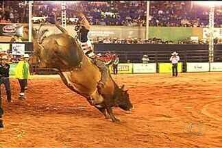 Confira como foi o encerramento do rodeio de Rio Verde - Milhares de pessoas acompanharam montarias de tirar o fôlego. O grande vencedor conquistou a liderança ainda na metade da competição.