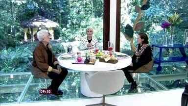 Lilia Cabral e Aguinaldo Silva tomam café da manhã com Ana Maria - Confira clipe da novela 'Império', que estréia nesta noite