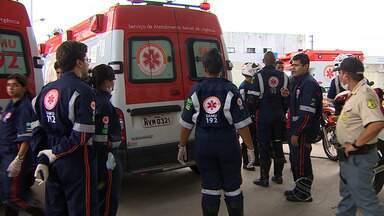 Equipe do Samu fala sobre estado de saúde do bebê da família resgatada - Equipe do Samu fala sobre estado de saúde do bebê da família resgatada.