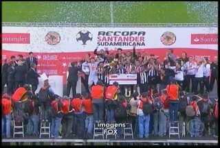 Esporte: Atlético conquista título da Recopa na prorrogação - Cida Santana lembra que time deve se concentrar no Brasileirão, para alcançar tão sonhado título dentro do Brasil.