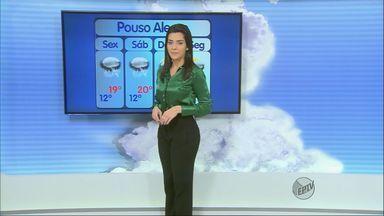Confira a previsão do tempo no Sul de Minas para esta sexta-feira (25) - Confira a previsão do tempo no Sul de Minas para esta sexta-feira (25)