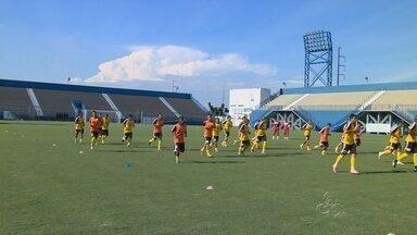 Princesa deverá ter mudanças para enfrentar o Genus pela Série D - Depois de empate em casa, time amazonense deve enfrentar a equipe de Rondônia com novas 'peças', neste domingo.