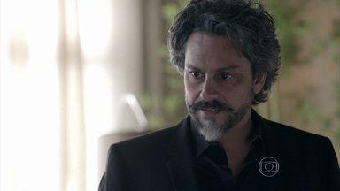 José Alfredo expulsa Robertão da casa de Maria Isis - Ninfeta confessa que mentiu e acaba sendo perdoada pelo amante