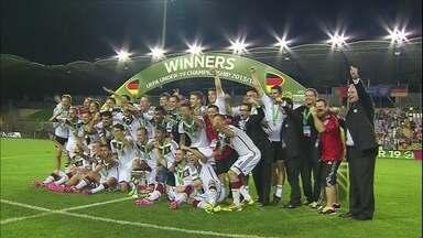 Após Copa do Mundo, Alemanha conquista Europeu Sub-19 - Alemães mostram ter boa geração para o Mundial da Rússia, em 2018
