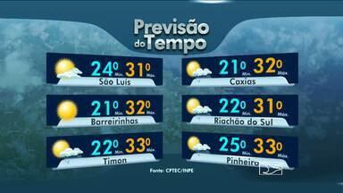 Veja como fica a previsão do tempo para esta sexta-feira (1º) - Sexta feira sem chuvas no Maranhão. Na capital, apenas pancadas de chuva em alguns pontos.