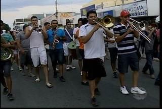 Cortejo do Abre alas do Festival Aldeia do Velho Chico acontece nesta sexta-feira - Cortejo faz parte da décima edição do Festival.