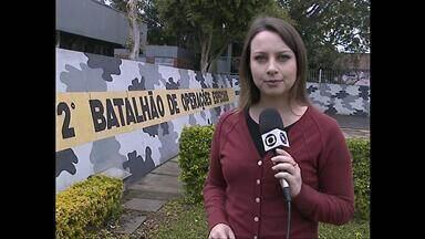 Batalhão de Operações Especiais da BM realiza operação em Santa Maria (RS) - Dois adolescentes foram apreendidos e veículos recolhidos durante a operação.