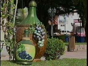 Urussanga se prepara para receber turistas durante a Festa do Vinho - Urussanga se prepara para receber turistas durante a Festa do Vinho