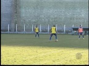 Grêmio Prudente enfrenta o Mauaense, líder da chave - Time já se prepara para o novo jogo.