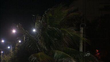 """Ventos ficam mais frios em Fortaleza nesta época do ano - População sente aquele """"friozinho"""" durante a noite."""