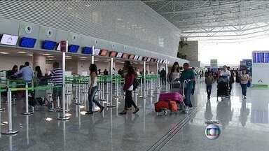 Passageiros que utilizaram novo aeroporto de Natal vão recuperar valor da taxa de embarque - A Agência de Aviação Civil considerou a cobrança indevida porque as obras do aeroporto de São Gonçalo do Amarante, inaugurado no fim de maio, ainda não foram concluídas.