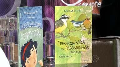 Miriam Leitão participa do projeto 'Sempre Um Papo', em Belo Horizonte - A jornalista e escritora falou sobre seus dois livros infantis.