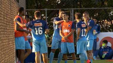 Cruzeiro aproveita semana para intensificar treinamentos - Time enfrenta o Criciúma, no sábado, em Santa Catarina.