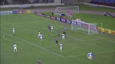 Santa Cruz perde para o Santa Rita em Maceió - Tricolor é derrotado por 3 a 2 em partida válida pela Copa do Brasil