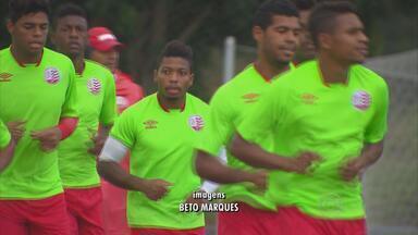 Náutico se prepara para enfrentar o Santa Cruz - Timbu pode promover a estreia do volante Marcone