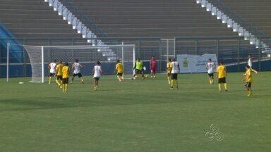 Princesa treina na Colina e deverá ter modificações contra o Atlético-AC - Time amazonense está em segundo lugar do grupo A1 da Série D