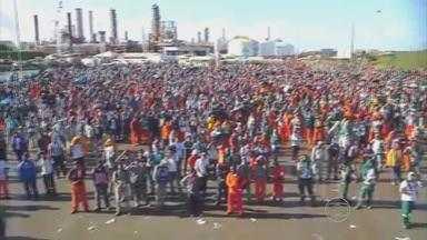 Trabalhadores da Refinaria Abreu e Lima e da Petroquímica decidem entrar em greve - Eles querem reajuste de 13% nos salários.
