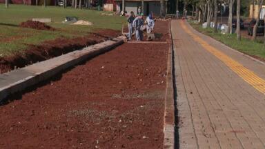 Gramadão da Vila A ganha obras de melhorias - O palco ficará maior. Haverá pistas de caminha e corrida.