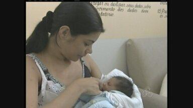 Ministério da Saúde lançou a campanha nacional de amamentação - Estudos apontam que o leite materno é capaz de reduzir em treze por cento a mortalidade infantil.