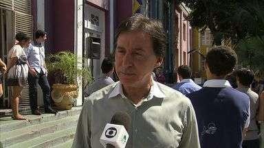 Eunício Oliveira visitou a Casa do Estudante - Candidato prometeu criar meia passagem intermunicipal para estudantes.