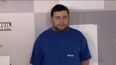 Suspeito de roubo de carga no Aeroporto de Vitória é preso - Carga foi roubada em 22 de maio, e era avaliada em R$ 1,2 milhão. Segundo a polícia, o suspeito preso foi o mentor do crime.